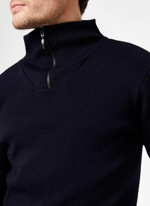 Vêtements Armor Lux Pull Guisseny Bleu vue face