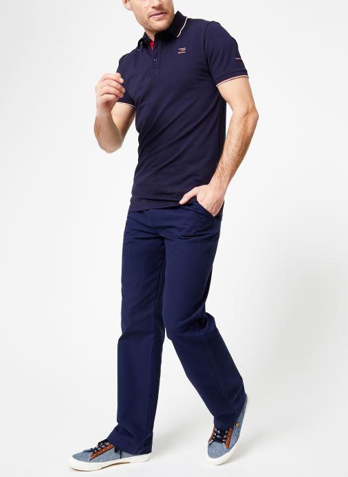 Vêtements Armor Lux Polo Spézet Bleu vue bas / vue portée sac