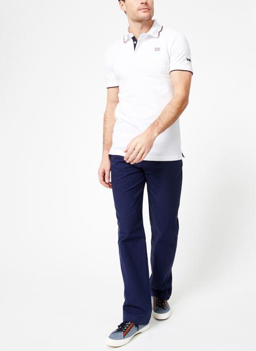 Vêtements Armor Lux Polo Spézet Blanc vue bas / vue portée sac