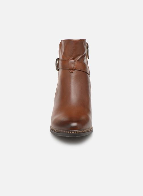 Ankle boots Laura Vita Agathe 69 Brown model view