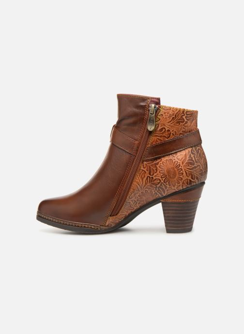 Ankle boots Laura Vita Agathe 69 Brown front view