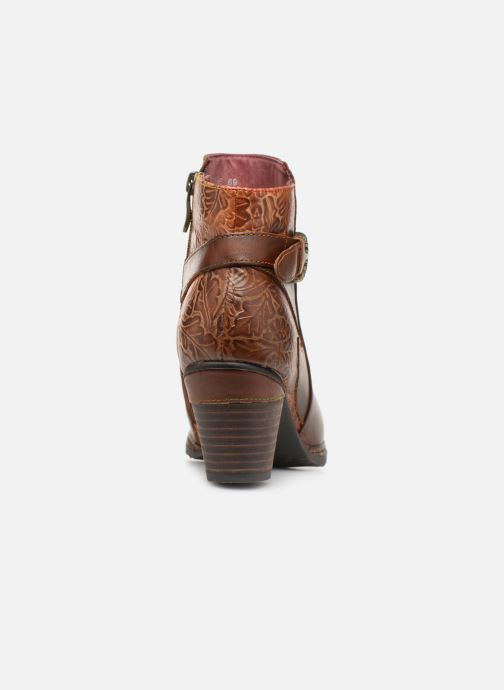 Ankle boots Laura Vita Agathe 69 Brown view from the right