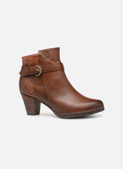 Ankle boots Laura Vita Agathe 69 Brown back view