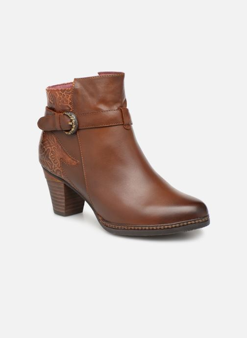 Ankle boots Laura Vita Agathe 69 Brown detailed view/ Pair view