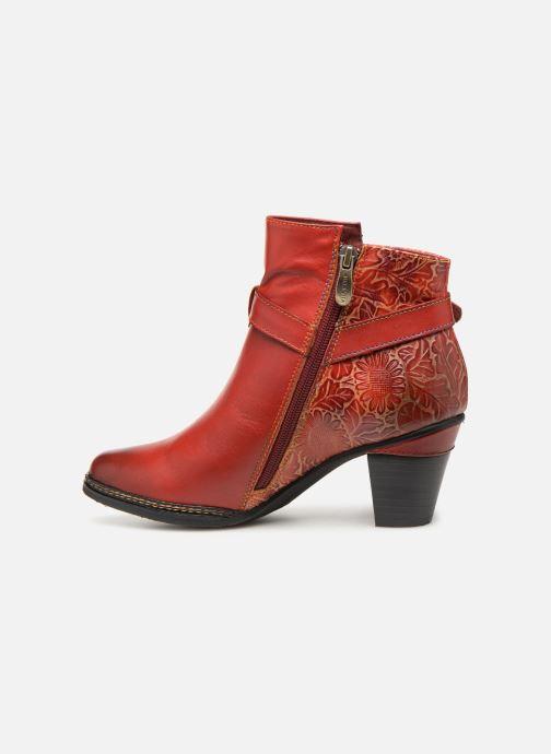 Bottines et boots Laura Vita AGATHE 69 Rouge vue face