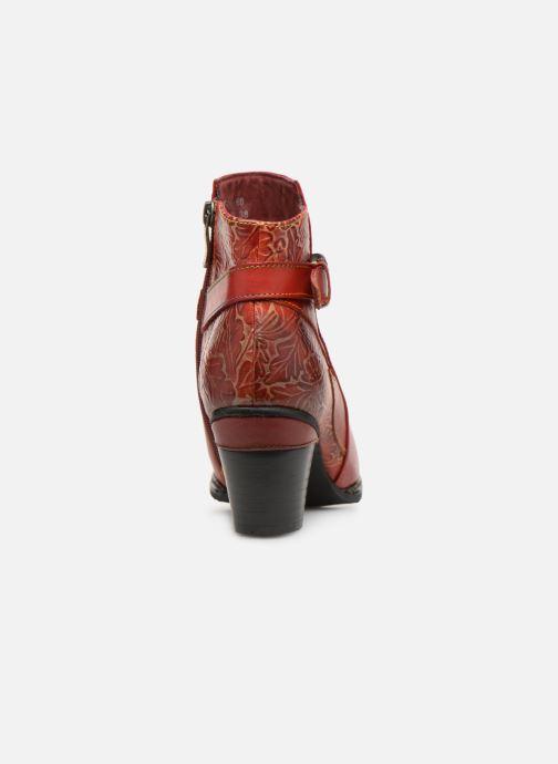 Bottines et boots Laura Vita Agathe 69 Rouge vue droite