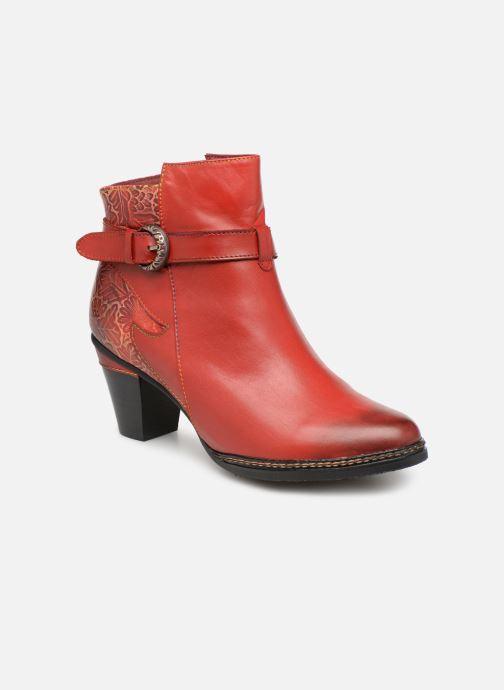Ankelstøvler Laura Vita Agathe 69 Rød detaljeret billede af skoene
