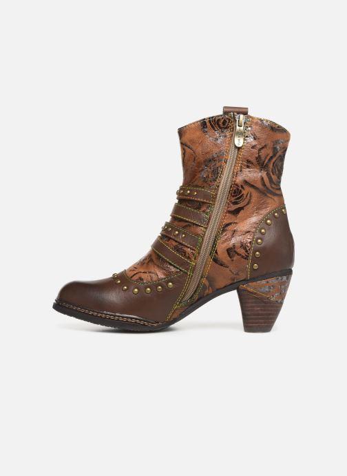Bottines et boots Laura Vita ALIZEE 038 Marron vue face
