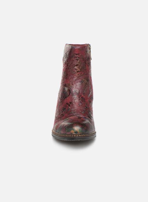 Bottines et boots Laura Vita Alizee 068 Bordeaux vue portées chaussures