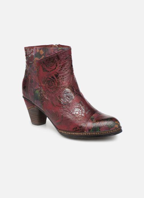 Bottines et boots Laura Vita Alizee 068 Bordeaux vue détail/paire