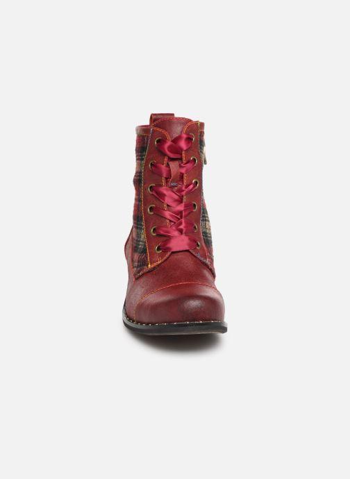 Bottines et boots Laura Vita COLOMBE 16 Rouge vue portées chaussures