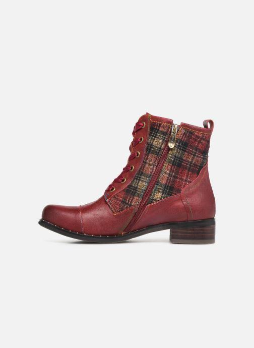 Bottines et boots Laura Vita COLOMBE 16 Rouge vue face