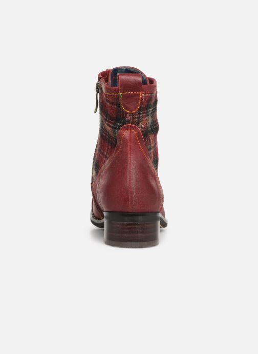 Bottines et boots Laura Vita COLOMBE 16 Rouge vue droite