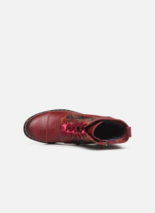 Bottines et boots Laura Vita COLOMBE 16 Rouge vue gauche