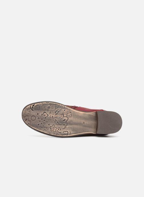 Bottines et boots Laura Vita COLOMBE 16 Rouge vue haut