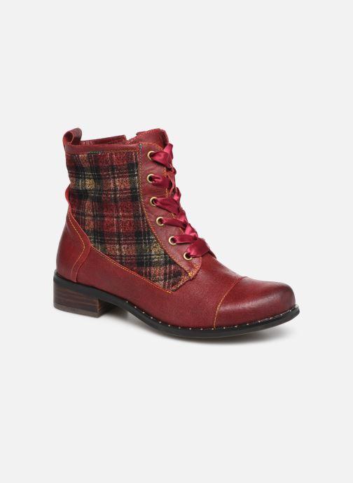Bottines et boots Laura Vita COLOMBE 16 Rouge vue détail/paire