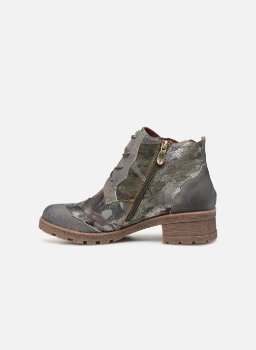 Ankle boots Laura Vita CORAIL 068 Green front view