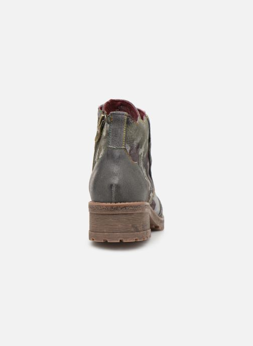 Ankle boots Laura Vita CORAIL 068 Green view from the right