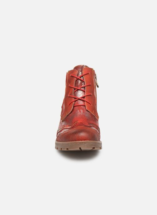 Ankle boots Laura Vita CORAIL 068 Red model view