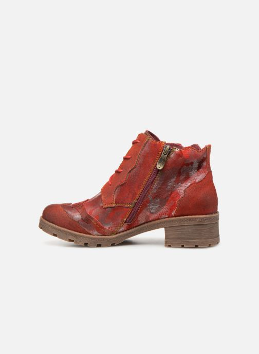 Ankle boots Laura Vita CORAIL 068 Red front view