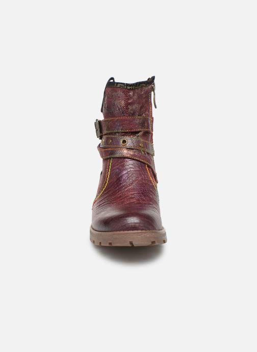 Stiefeletten & Boots Laura Vita CORAIL 12 lila schuhe getragen