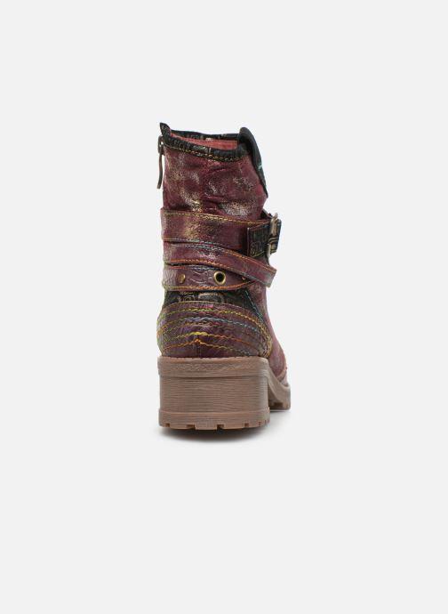 Stiefeletten & Boots Laura Vita CORAIL 12 lila ansicht von rechts
