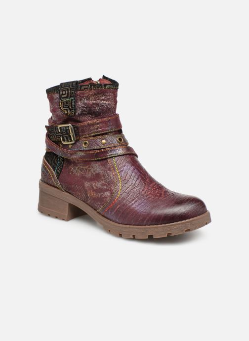 Ankle boots Laura Vita CORAIL 12 Purple detailed view/ Pair view