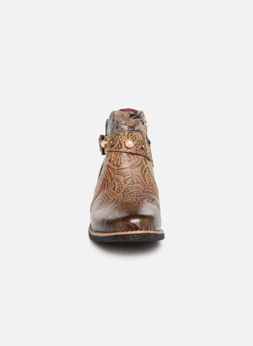 Stiefeletten & Boots Laura Vita CORALIE 048 beige schuhe getragen