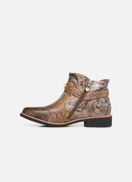 Stiefeletten & Boots Laura Vita CORALIE 048 beige ansicht von vorne