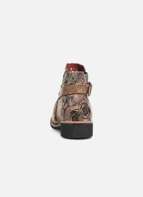 Stiefeletten & Boots Laura Vita CORALIE 048 beige ansicht von rechts
