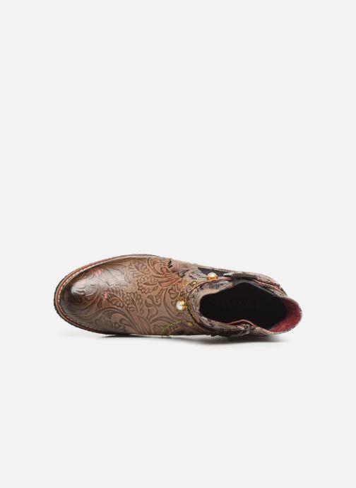 Stiefeletten & Boots Laura Vita CORALIE 048 beige ansicht von links