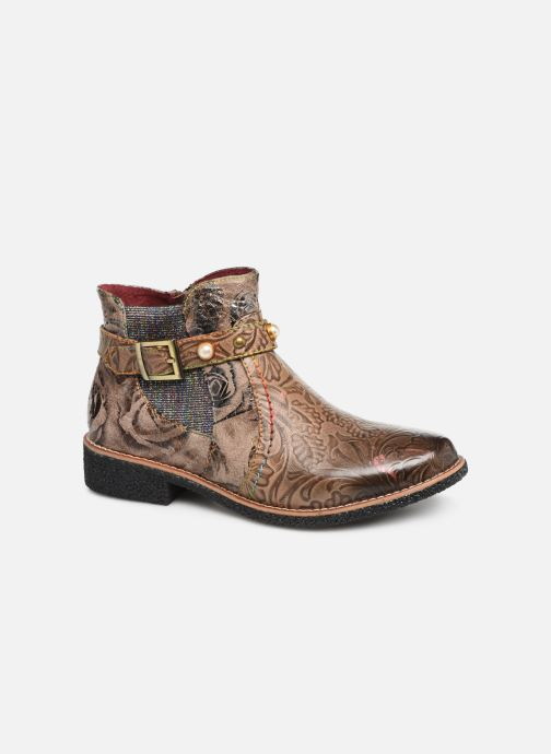 Bottines et boots Laura Vita CORALIE 048 Beige vue détail/paire