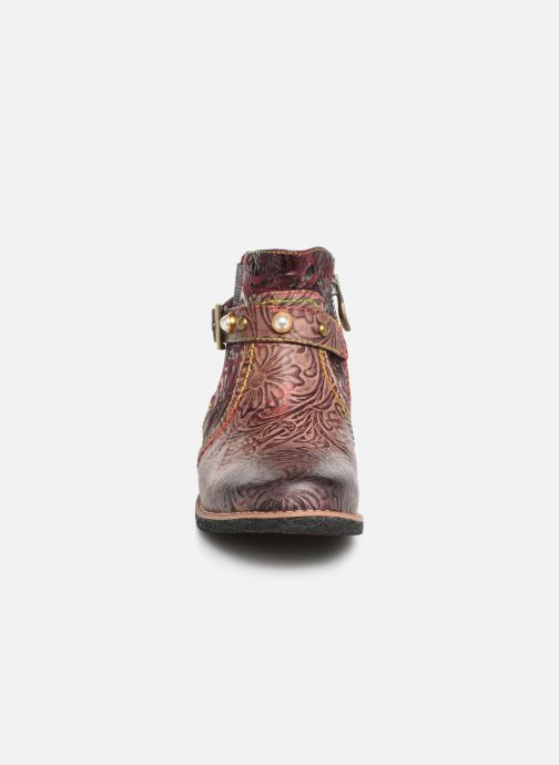 Ankle boots Laura Vita CORALIE 048 Burgundy model view