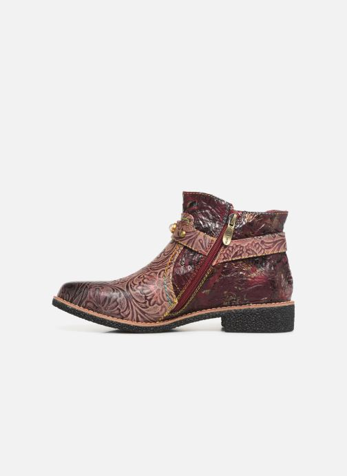 Ankle boots Laura Vita CORALIE 048 Burgundy front view