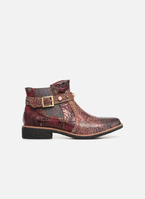 Ankle boots Laura Vita CORALIE 048 Burgundy back view