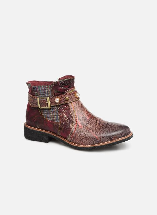 Ankle boots Laura Vita CORALIE 048 Burgundy detailed view/ Pair view