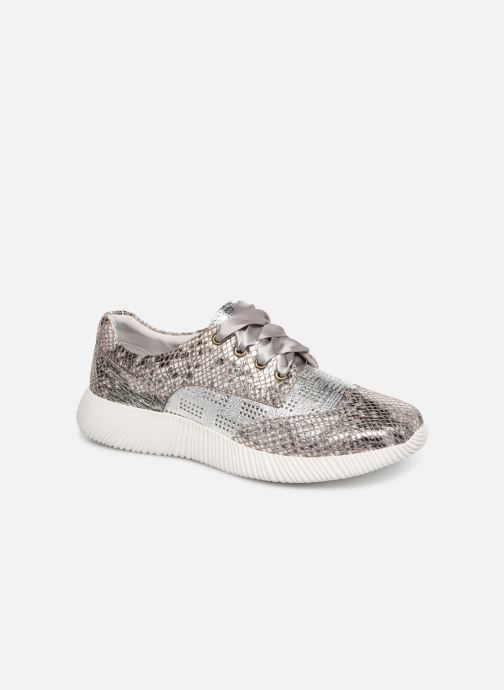 Trainers Laura Vita DELPHINE 04 Silver detailed view/ Pair view
