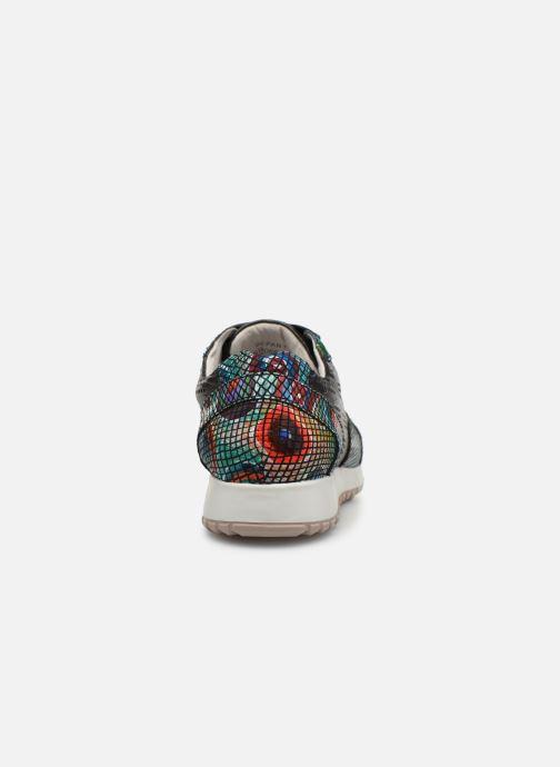 Sneakers Laura Vita DEPART 07 Svart Bild från höger sidan