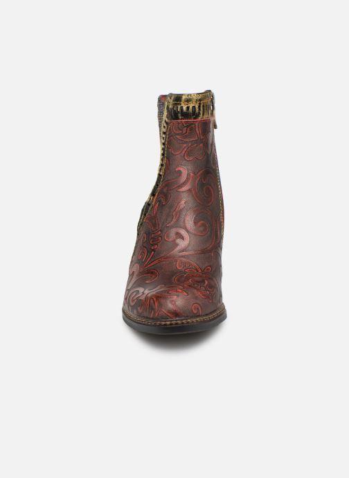 Ankle boots Laura Vita ELEA 02 Burgundy model view