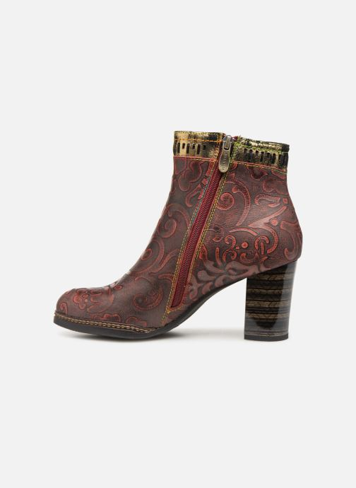 Ankle boots Laura Vita ELEA 02 Burgundy front view
