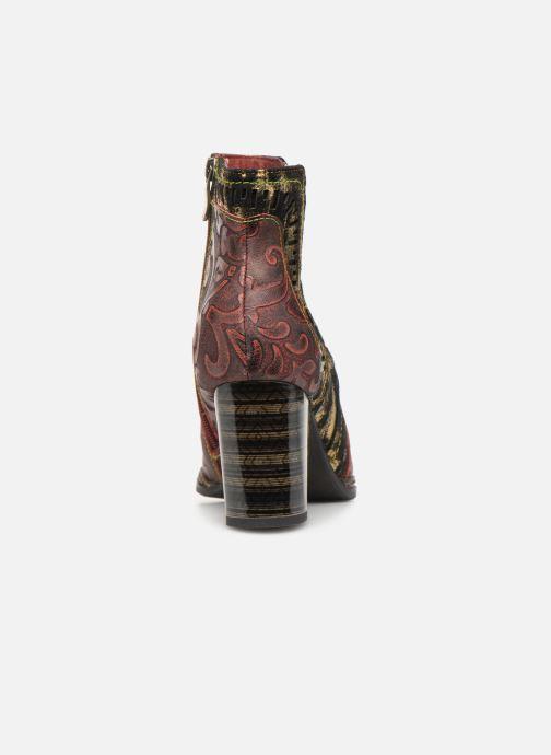 Bottines et boots Laura Vita ELEA 02 Bordeaux vue droite