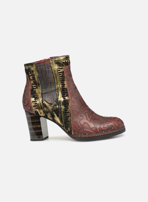Ankle boots Laura Vita ELEA 02 Burgundy back view
