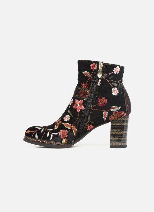 Ankle boots Laura Vita ELEA 048 Black front view