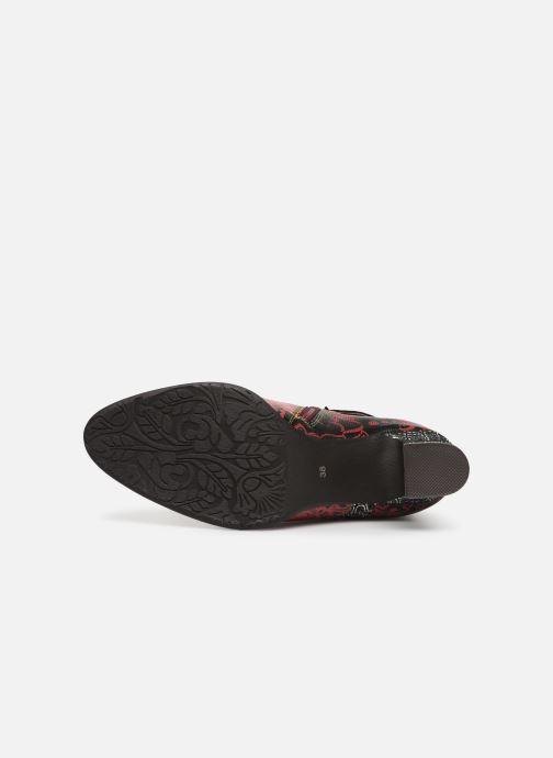Stiefeletten & Boots Laura Vita ELECTRE 02 rot ansicht von oben