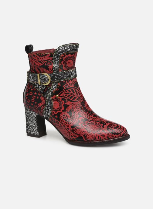 Ankle boots Laura Vita ELECTRE 02 Red detailed view/ Pair view