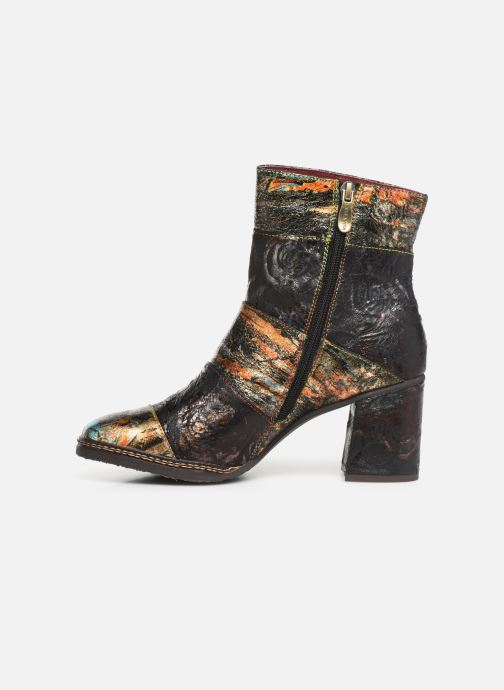 Ankle boots Laura Vita ELIANE 02 Bronze and Gold front view