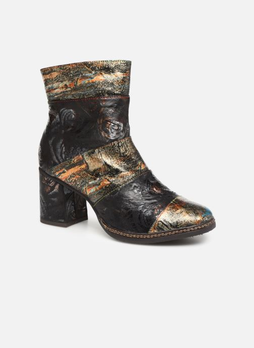 Ankle boots Laura Vita ELIANE 02 Bronze and Gold detailed view/ Pair view