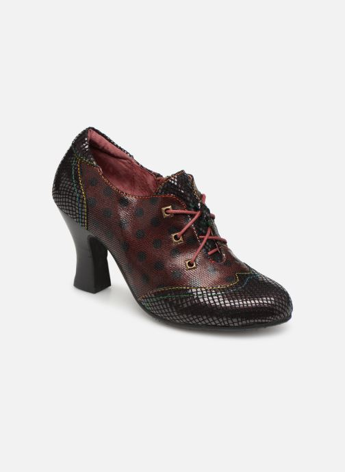 Ankle boots Laura Vita ELISA 03 Burgundy detailed view/ Pair view