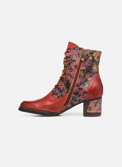 Ankle boots Laura Vita ELLA 05 Red front view