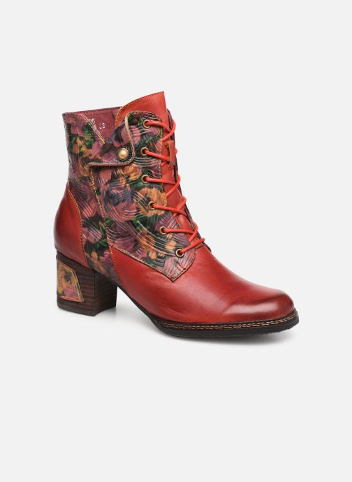 Ankle boots Laura Vita ELLA 05 Red detailed view/ Pair view